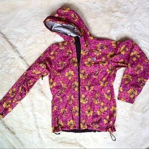 North Face Rain Jacket - FLORAL